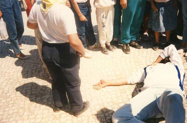 2 settembre 1989 Giorgio riceve le stimmate dalla Madonnna
