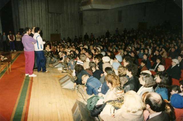 """Russia - Mosca 22 Marzo 1992 Conferenza pubblica alla """"Casa della Cultura"""""""