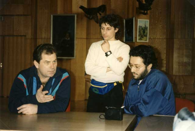 Russia - Mosca 5 Aprile 1992 Giorgio intervista il Generale a 2 Stelle Kovalënok.