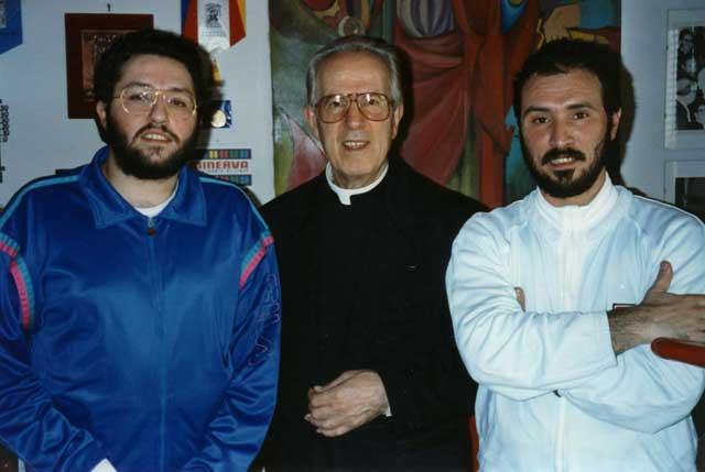 Roma 11 Aprile 1992 Incontro con il Monsignor Corrado Balducci.