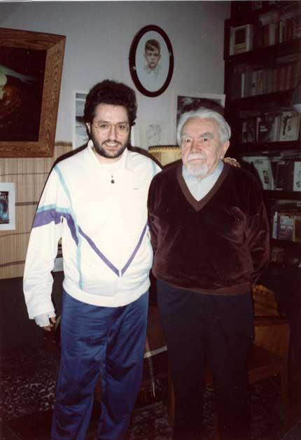 Giorgio Bongiovanni incontra Alexander Kazantzev.