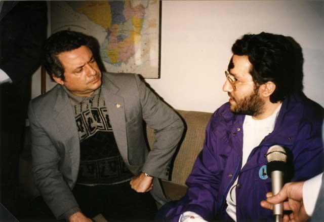 Paraguay Luglio 1993 incontro con il Vice Presidente del Paraguay il Dott. A.R.Seifart.