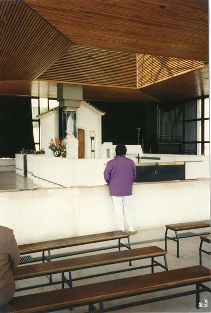 Portogallo - Fatima Marzo 1995 Giorgio nel Santuario della Madonna di Fatima.