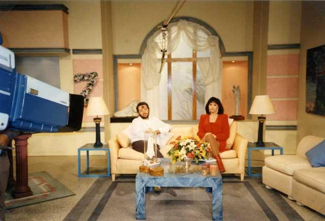 Televisione Argentina intervista Giorgio 18 luglio 1996.