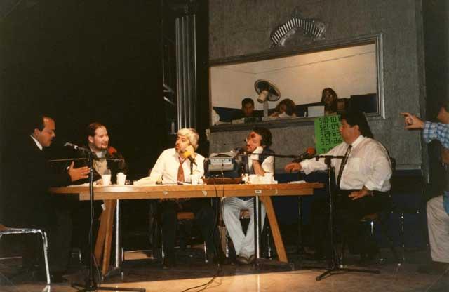 Messico Dicembre 1996 Giorgio intervistato a Radio Xen 900 AM.