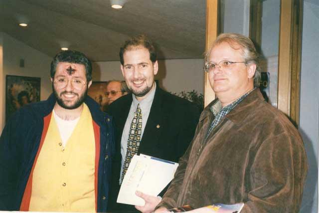 5 Aprile 1998 Giorgio al Congresso Ufologico di S.Marino.