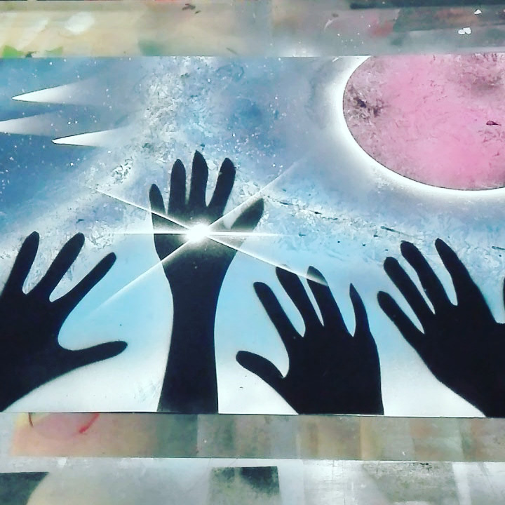 Mani che cercano il Cielo