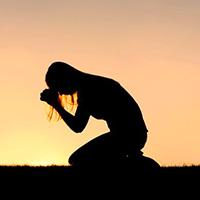 preghiera tramonto