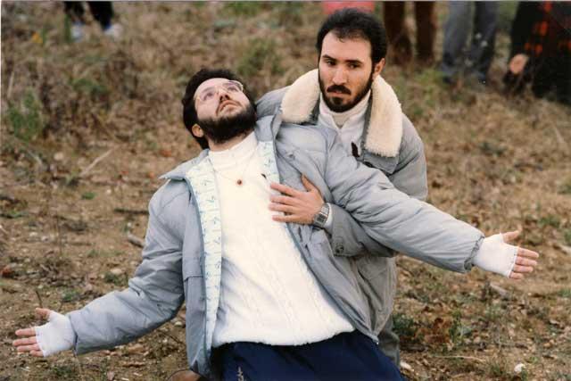 Porto S.Elpidio 30 Dicembre 1989 Giorgio in estasi.