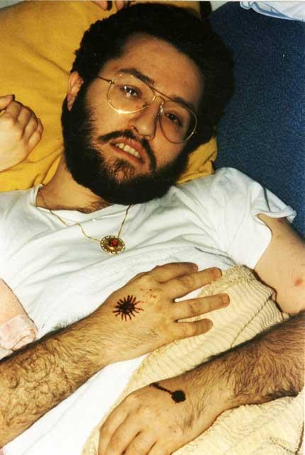 Porto S.Elpidio 28 Febbraio 1990 sulla mano destra si forma la figura di un Sole.
