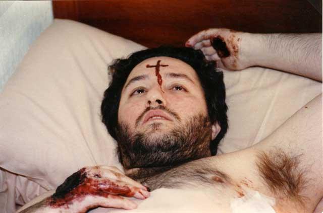 Uruguay - Salto, La Aurora 26 Luglio 1993 Giorgio riceve la Stimmata a forma di croce sulla fronte.