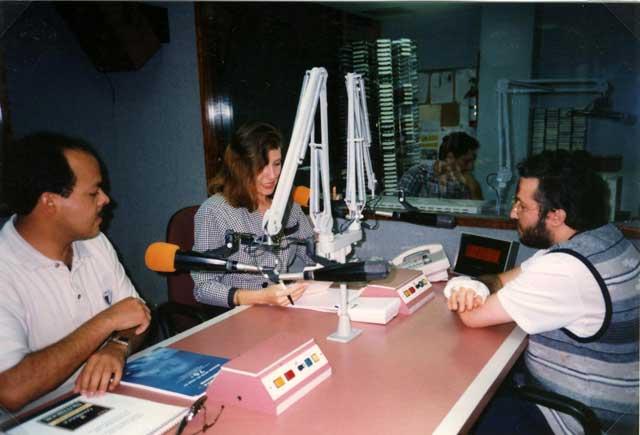 Portorico - Miami 10 Febbraio 1996 Trasmissione Radiofonica.
