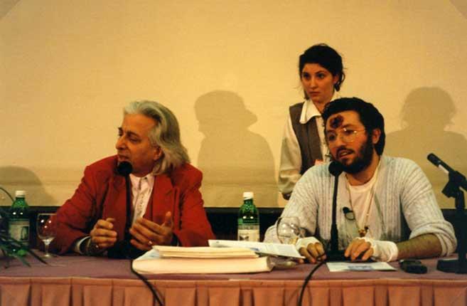 Svizzera Febbraio 1996 Giorgio in un Congresso a Zurigo.