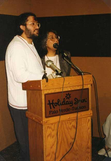 Laughlin Nevada 20 Gennaio 1997 Giorgio in conferenza tradotto da Cecilia Dean.