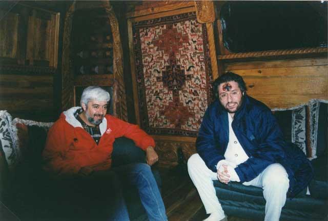 Mexico 15 Gennaio 1998 Giorgio Bongiovanni con Jaime Maussan.